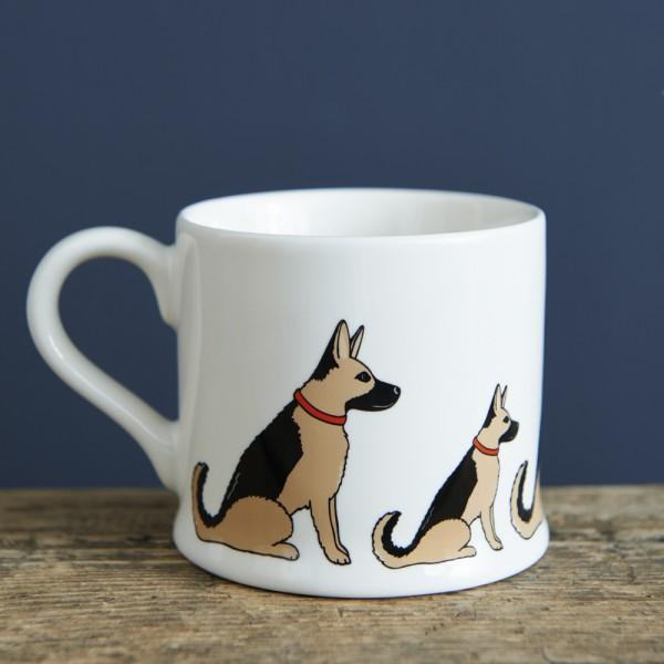 Schäferhund Tasse