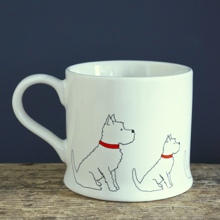West Highland Terrier Tasse