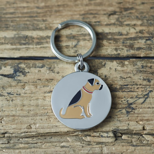 Dog Tag Border Terrier