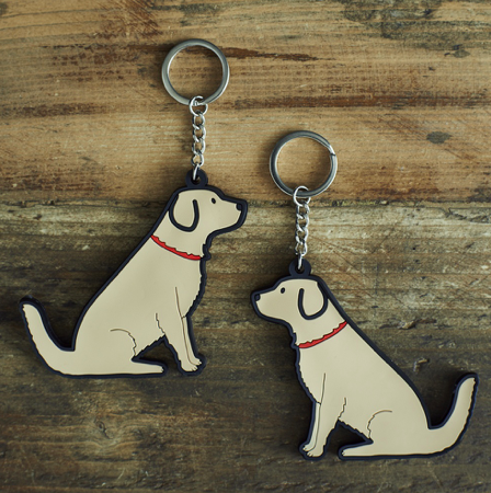 Keyring Golden Retriever