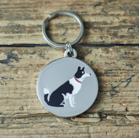 Dog Tag Border Collie