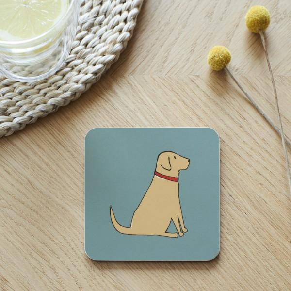 Untersetzer Yellow Labrador