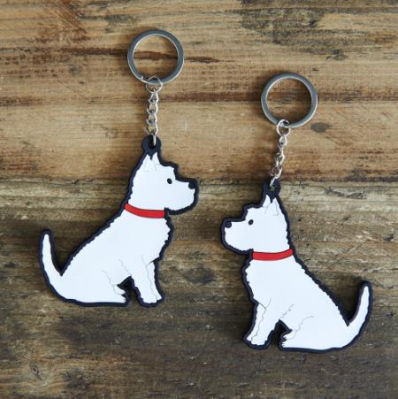 Keyring West Highland Terrier