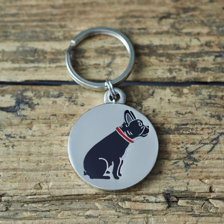 Dog Tag French Bulldog