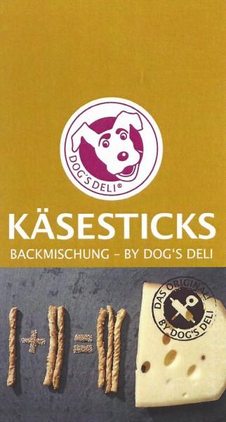 Backmischung Käsesticks