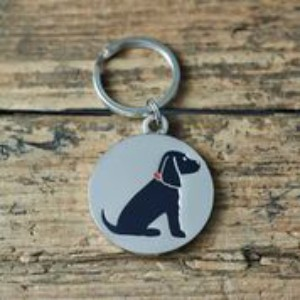 Dog Tag Cocker Spaniel Black